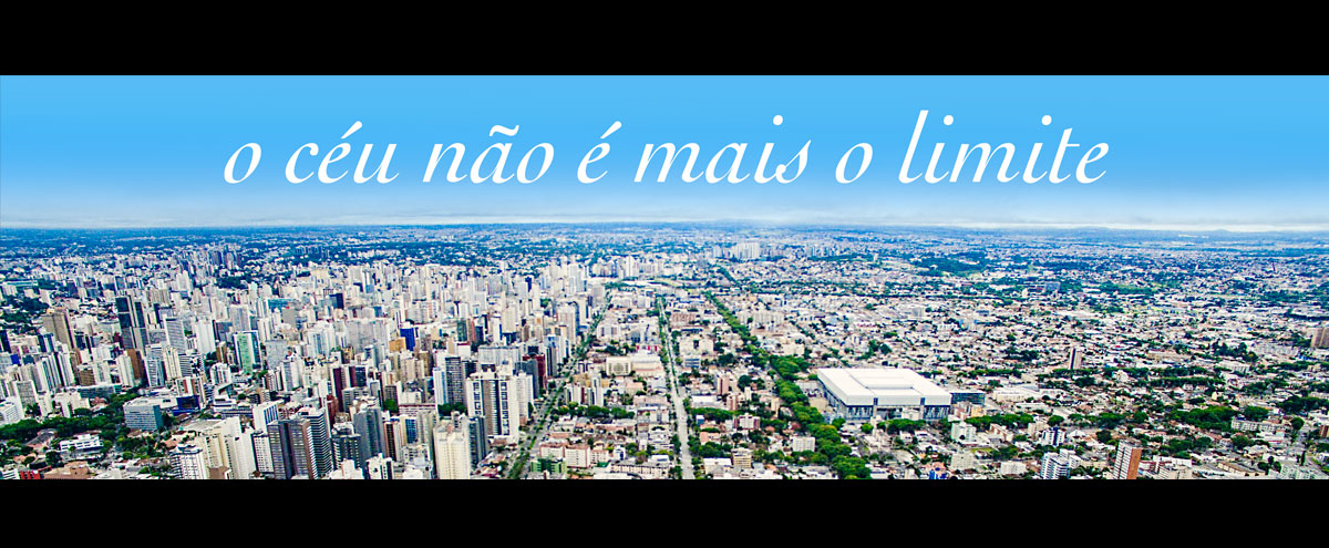 Filmagem aérea em Curitiba com drone